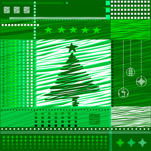christmas  background. vector, avant-garde