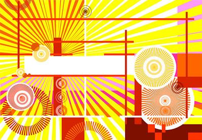 abstract design background, avant-garde illustration