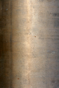 a close up picture of metal pipe