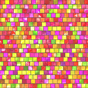 Multicolor tiles texture. Seamless and tileable for your backgrounds.