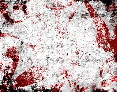 dark colored grunge background featuring blood spatters