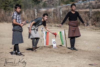 Khuru or Dart Game.