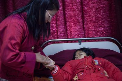 National Traditional Medicine Hospital. Thimpu, Bhutan.