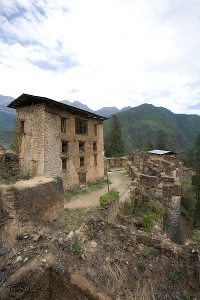 Drukgyal Dzong.  Paro Valley, Bhutan.