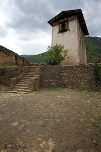 Drukgyal Dzong.  Paro Valley, Bhutan.