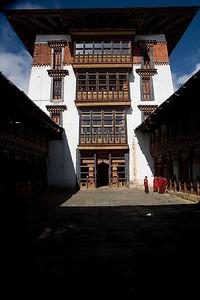 Jakar Dzong. Bhumthang, Bhutan.