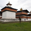 Jampey Lhakhang : Jampey Lhakhang or Jampa, is located in Bumthang (Jakar) in Bhutan, and is said to be one of the 108 temples built by Tibetan King Songtsen Gampo in 659 AD on a single day, to pin down an ogress to earth forever. Bumthang, Bhutan.