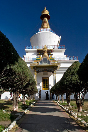The Memorial Chorten.  Thimpu Bhutan.