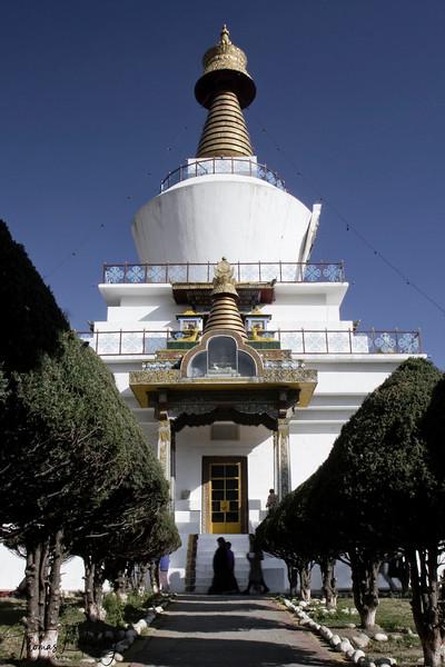 The Memorial Chorten.  Thimpu Bhutan.