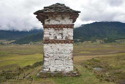 Around Gangtey village in Phobjika, Bhutan.