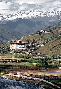 Ripung dzong.  Paro, Bhutan.