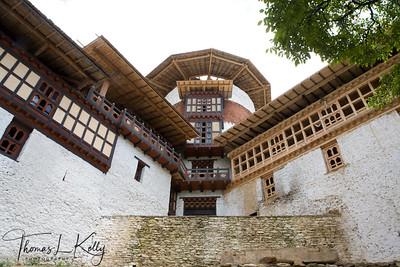 Taa-Dzong:  Museum of Bhutan.  Trongsa, Bhutan.
