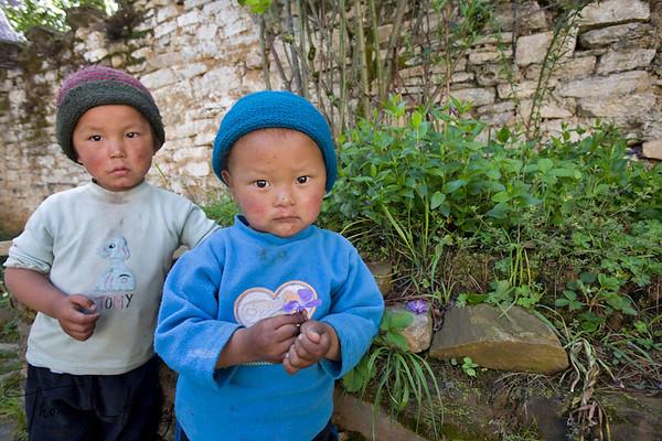 Ugyen Choling Palace.  Bumthang. Bhutan