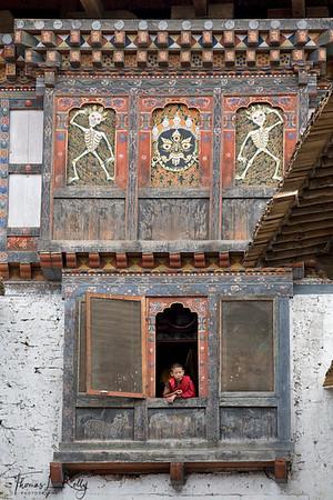 Wangdu Phodrang.  Wangdue Phodrang, Bhutan.