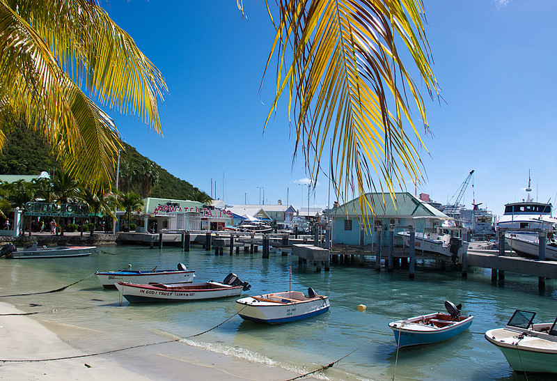 Downtown Boat Harbor, Phillipsburg, St. Maarten
