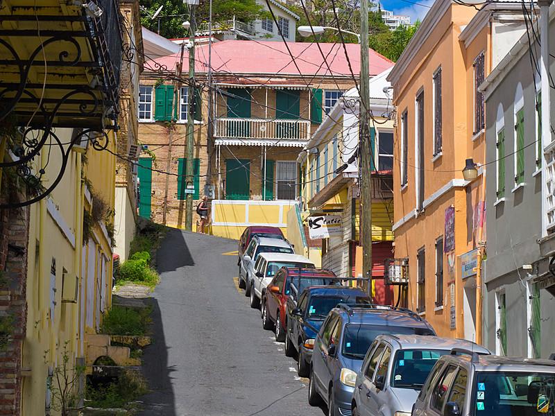 Streets of Charlotte Amalie, St. Thomas