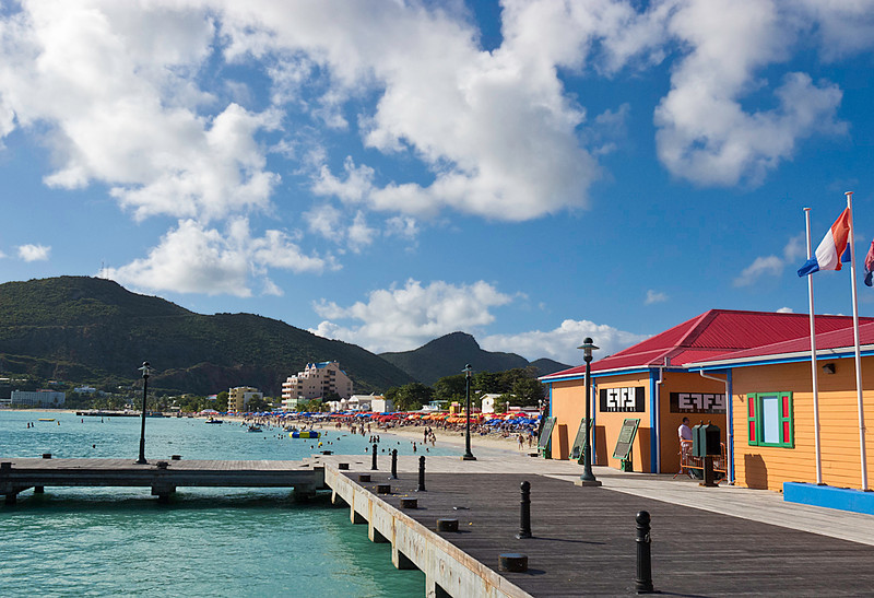 Philipsburg Water Taxi Dock
