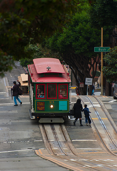 Powell Street Cable Car, San Francisco