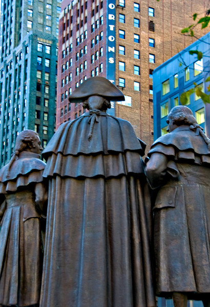 3 patriots, downtown Chicago