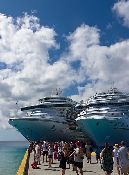 Cruise Ships; Grand Turk