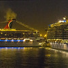 Cruise Ships Abstract