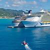 Cruise Ships in St. Maarten Harbor