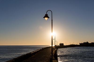 Pier at Sunset. Cádiz 2016