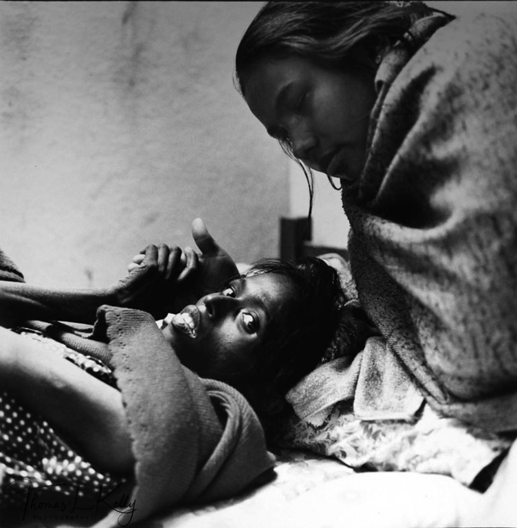 ON HER LAST BREATH<br /> A victim of AIDS.