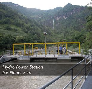 Hydro Power Station Ice Planet Film, Canada (2013)