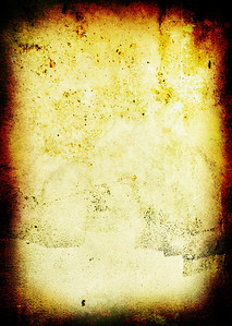 warm grunge aged gothic background with copy space