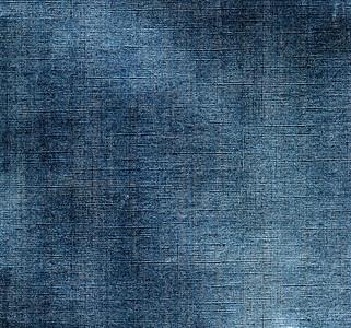 Blue metallic macro abstract background.