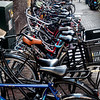 Bicycles; Amsterdam, Netherlands