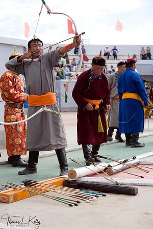 Mongol archers.