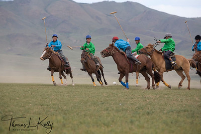 Children Polo in Monkhe Tingri. Mongolia.