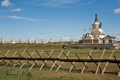 Erdene Zuu Monastery in Kharakhorin, Mongolia