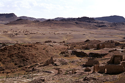 Monastic Ruins, Gobi region. Mongolia.