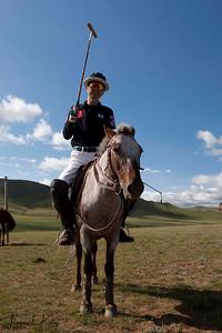 Ma Yun Long of Chinese Polo Team. Monkhe Tingri Mongolia.