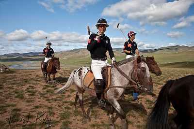 Ma Yun Long of Chinese Polo Team. Monkhe Tingri Mongolia.
