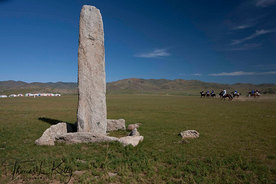 Chinese Polo Team vs The Rest of the World Polo Team. Monkhe Tingri, Mongolia