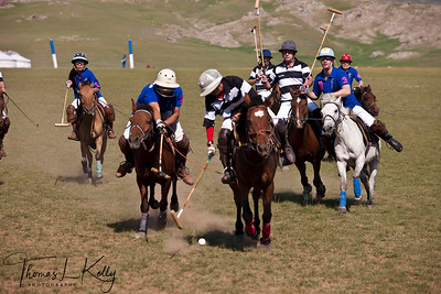 New Zealand Polo Team vs The rest of the World Polo Team. Monkhe Tingri, Mongolia