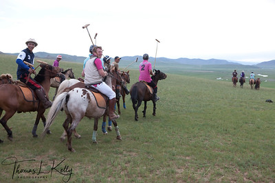 Polo hit.  Monkhe Tingri. Mongolia.