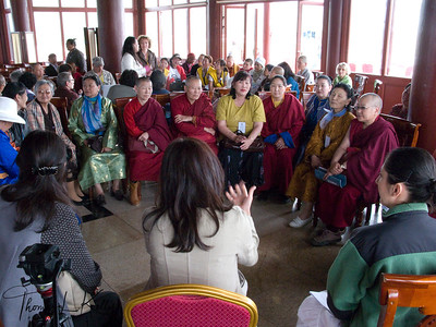 Sakyadhita International Conference on Buddhist Woman (2008) at Mamba Datsun. Ullaanbatar, Mongolia.