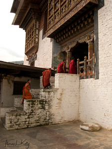 Trongsa Dzong. Bhutan.