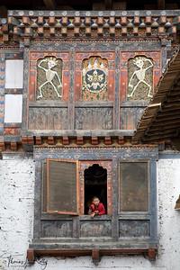 Dzong at Wangdue Prodrang. Bhutan.