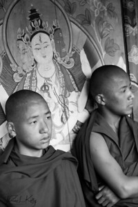 Chiwong Monks. Solu, Nepal.