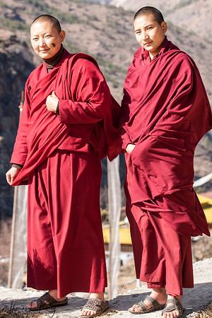Ngagyur Nyingma Buddhist Nunnery. Thimpu, Bhutan.