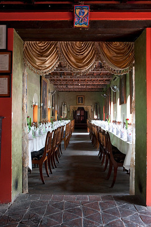 Baithak restaurant at Babar Mahal Revisited