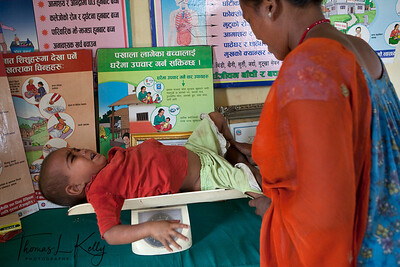 Shree Baijapur Sub Health Post in Banke, Nepal.