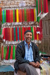 Bhaktapur life.  Bhaktapur Durbar Square, Kathmandu, Nepal.