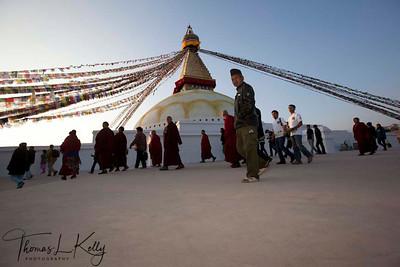 Boudhanath Stupa. Kathmandu, Nepal.